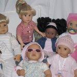 Продолжение истории или коллекция дочкиных кукол
