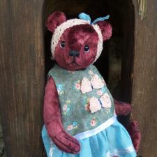 Вишнево-ягодное настроение или тедди цвета бордо