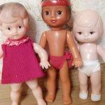 Лот советских кукол Рельефок