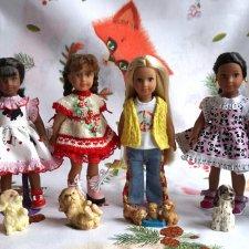 Американские девочки и Лори 6 дюйм: большая любовь к маленьким куклам
