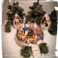 Sylvanian families  поздравляют вас с Рождеством