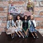 Шарнирные куклы модницы (Fashion beautiful girl)