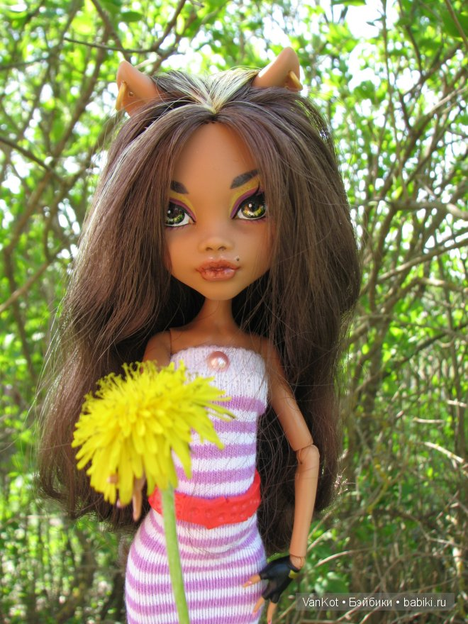 Новая старая Корица. Clawdeen Wolf, Monster High