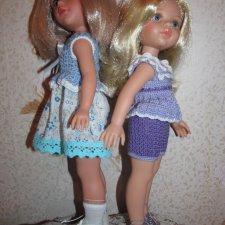 Сравнительный анализ Мари Vidal Rojas 35 см. и кукол Паола Рейна