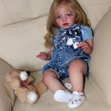 Кукла реборн Алиса, молд Изабелла
