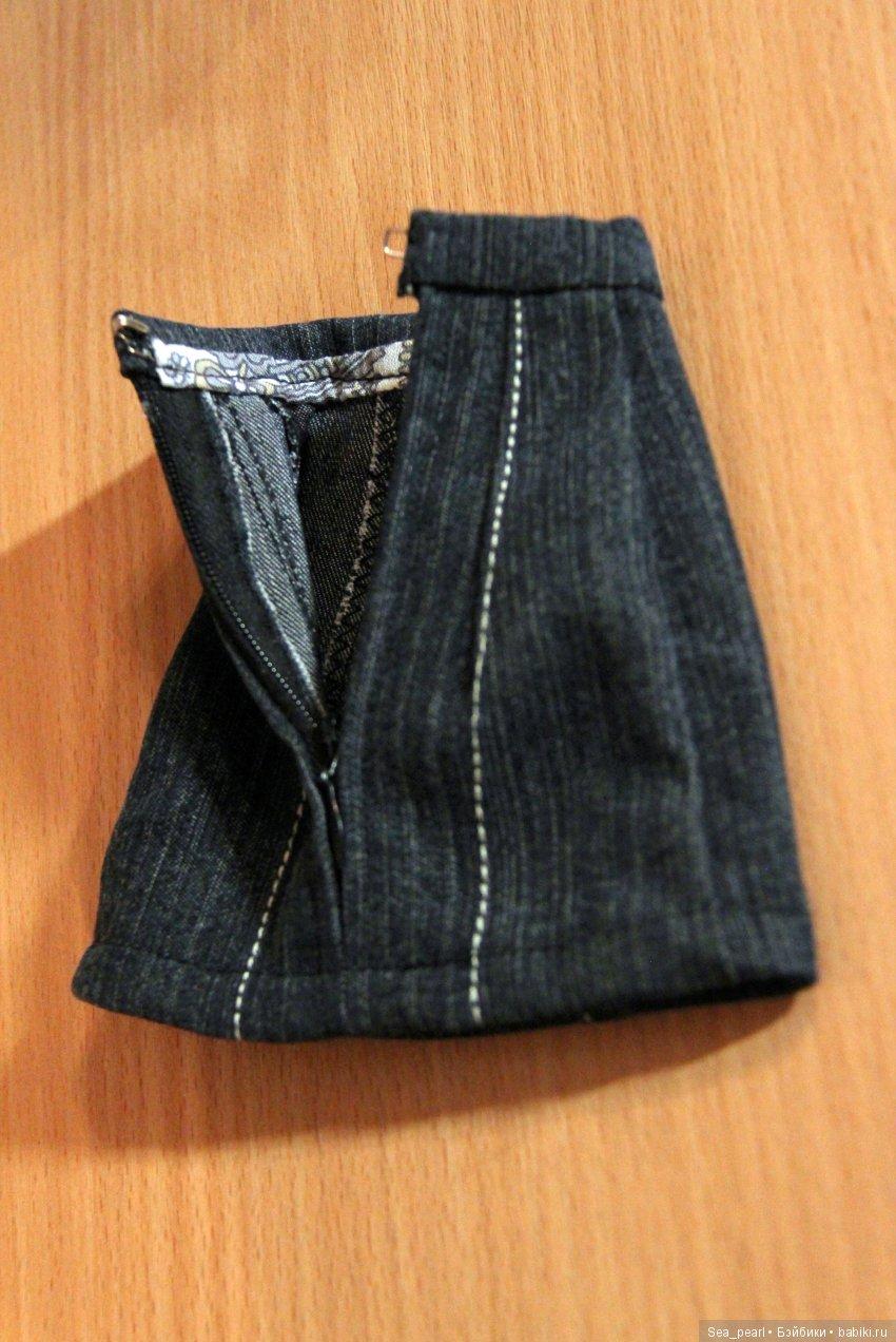 джинсковая юбка