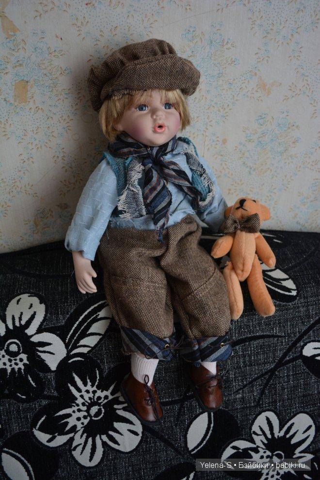 фарфоровая кукла Егорка