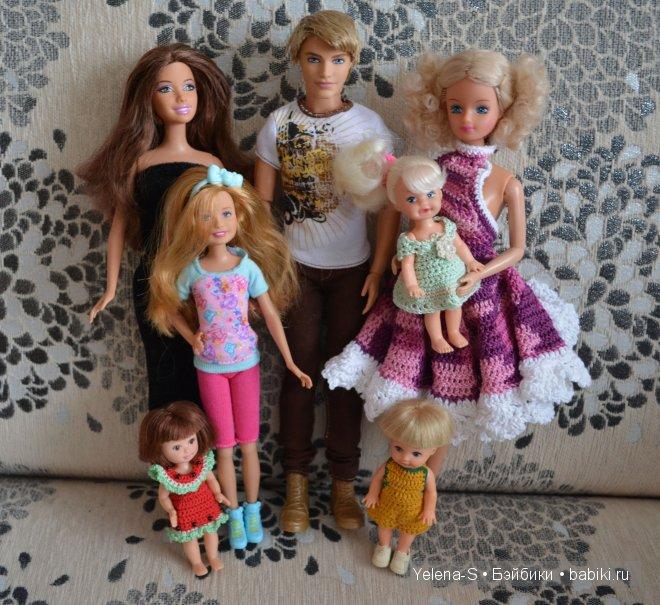 куклы барби mattel томми полина