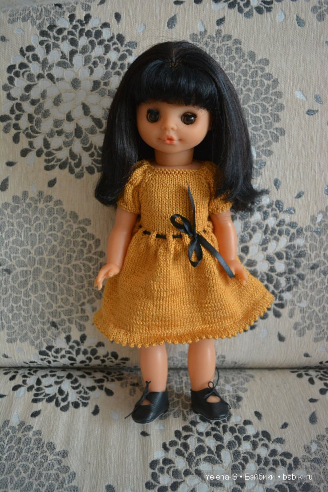 советская кукла