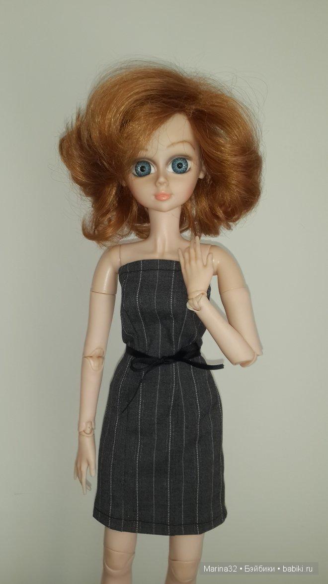 Платье и болеро для куклы Звезда подиума