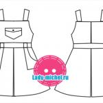 Моделируем одежду для кукол БЖД формата Yo-sd 26 см. Часть 2