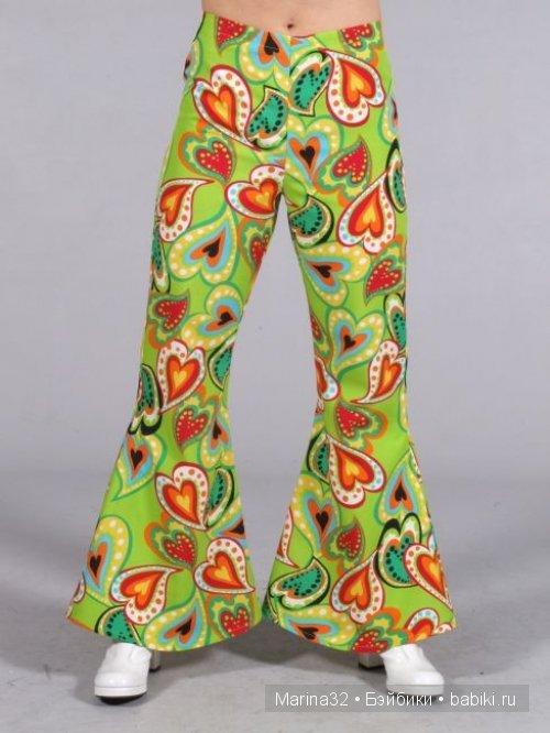 1d63fb5e4a2 Для хиппи эти брюки представляли собой одежду в стиле унисекс. Джинсы  такого кроя могли носить и парни