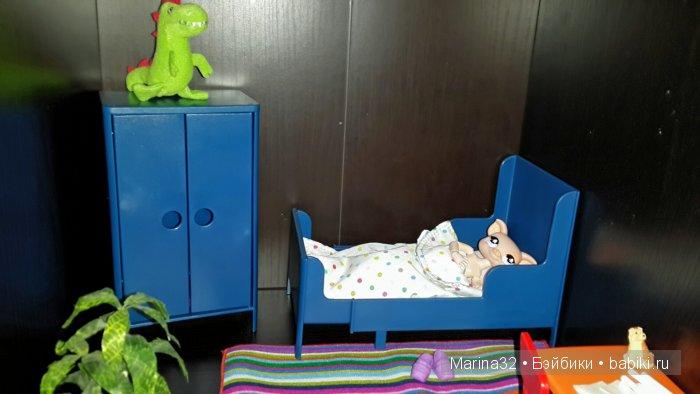 Новинка ИКЕА! Набор игровой мебели-спальня для кукол!
