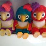 Попугай Кеша, редкая игрушка 90-х годов