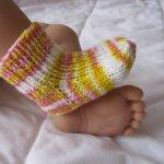 Вязаные носочки для дочек и сыночков.2