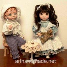 """Мои малыши"". Авторские куклы Ольги Гречухи"