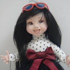 """""""Мои  малыши"""". Продолжение... Авторские куклы Ольги Гречухи"""