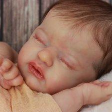 Малышка создана на базе молда Lil' Treasure by LAURA LEE EAGLES
