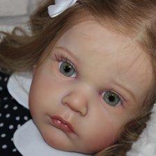 Моя малышка реборн из молда Mattia
