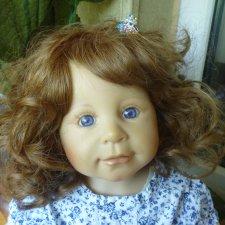 Милая Леони от Bettine Klemm. Коллекционная кукла фирмы Zapf Creation
