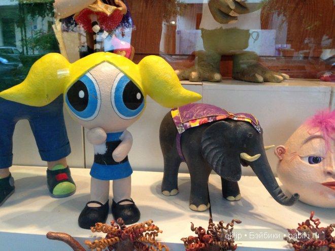 Мастерская кукол из папье-маше в Тель-Авиве