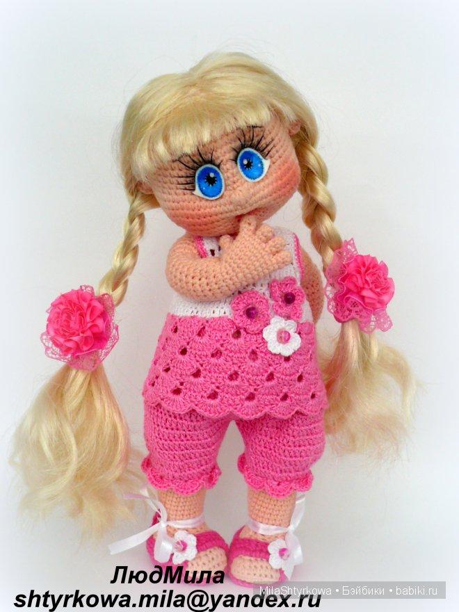 Как связать  кукле фото