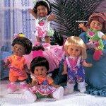 Куклы Galoob Baby Face которые не были выпущены