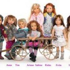 Кидзы в лицах. Куклы 2012 года