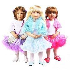 Кидзы в лицах. Остатки сладки. Куклы вне каталогов 2010 - 2012 годов