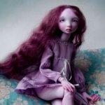 Новая авторская шарнирная кукла Валентины Игнатьевой - Rosie