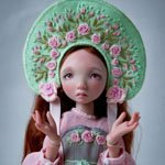 Новая Роза. Шарнирная кукла