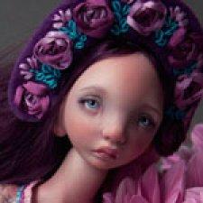 Шарнирная кукла Софья или Соня Валентины Игнатьевой