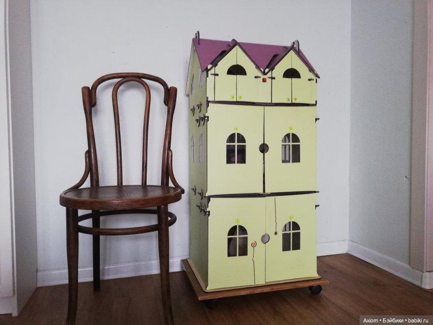 кукольный дом, два этажа