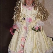 Фарфоровая красавица Бренди известного автора Denise McMillan.