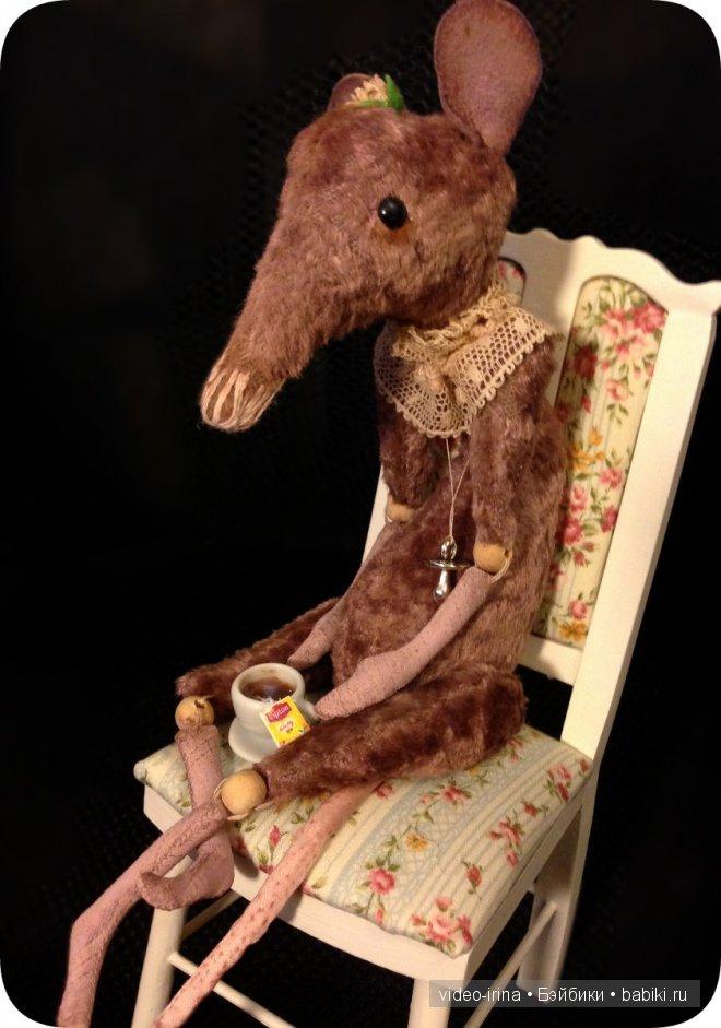 Крысь, авторская работа Юлии Брег