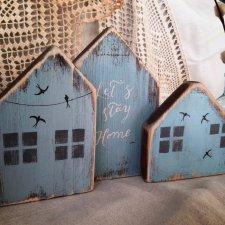 Уютные деревянные домики с птичками!