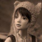 Фарфоровая Ева от Маргариты Цветковой