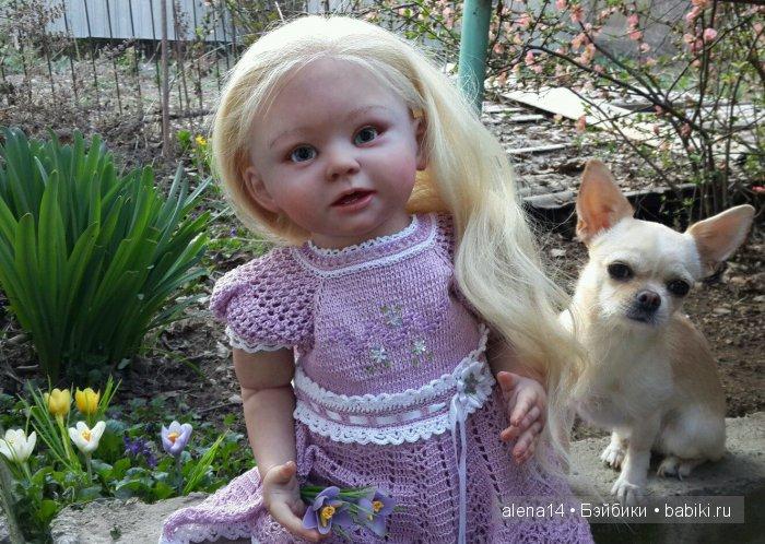 Бонничка с нашей собачкой Боней, да да именно такая кличка
