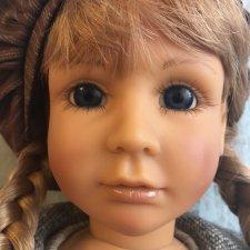 Коллекционная кукла Анна 1994 год от Zapf Creation, Bettina Feigenspan-Hirsch