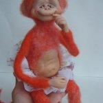 Малышня на Ёлке - авторские игрушки своими руками