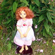 Авторская кукла Руфина, моя новая девочка - поделочка