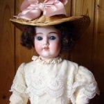 Антикварная кукла Schoenau & Hoffmeister 1909