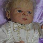 Кукла реборн Витенька или Мальчик Одуванчик
