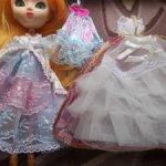Платье формата 1\6  Барби, Пуллип