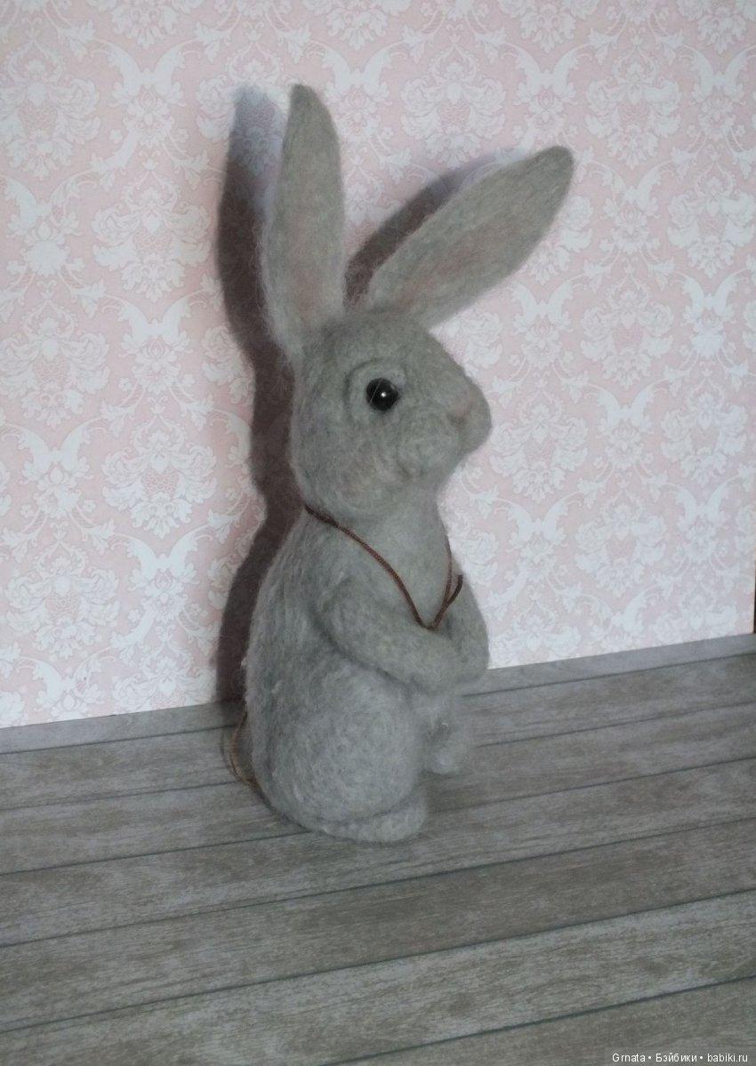 валяный заяц