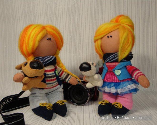 Куклы систеры Тоня и Настя