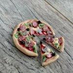 Пицца в формате 1:6