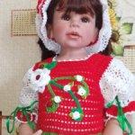 Для больших кукол, или маленьких девочек.