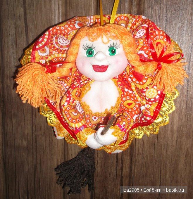кукла-попик на Удачу! сошью на заказ,глаза,волосы и платье-по вашему выбору!