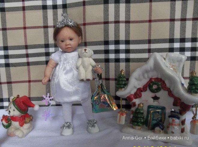 Снежинка. Авторская кукла Горчаковской Анны